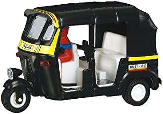 Shinsei Toys Auto Rickshaw, Yellow (Big)
