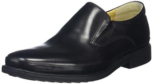 Steptronic Andrea Mens Formelle Slip Chaussures Noir (noir)