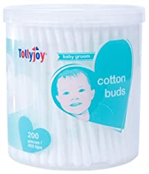 Tollyjoy Cotton Swab-200 Stick per Canister