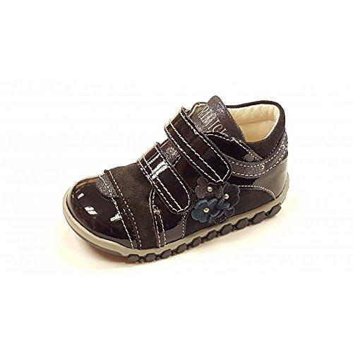 Primigi Bisou Navy Brevetto Bambina Velcro Boot, blu (Navy), 20 UK