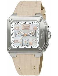 75f12c6e8605 Breil BW0398 - Reloj cronógrafo de mujer de cuarzo con correa de piel beige  (cronómetro