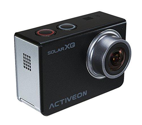 ACTIVEON xca10W XG Solar Station Action Camera, 14Mega Pixel Nero