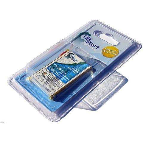 Batería de repuesto para TomTom tt-go-720para TomTom Go 520, 530, Go 530Live, Go 630, GO 720, Go 730, Go 730T, Go 930, Go 730T navegadores GPS (1300mAh, 3,7V, iones de