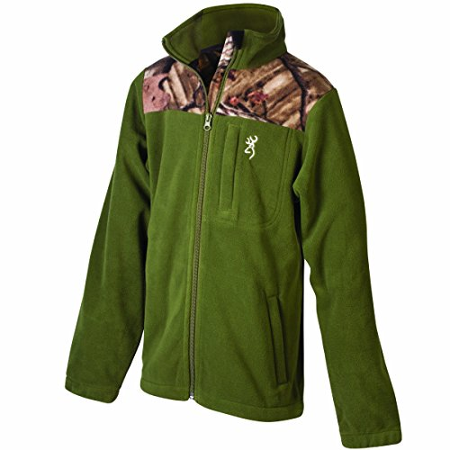 browning-boy-s-steep-fleece-jacke-moos-small-moos