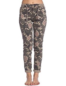 [Sponsorizzato]Abbino CG001 Jogging Pantaloni Donne Ragazze - Multiplo Colore - Mezza Stagione Primavera Estate Comodo Attraente...