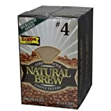 Natural Brew #4 Coffee Filters 3 Pack - ...