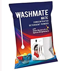 WASHMATE Matic Concentrated Detergent Powder With Stain Busters & Optical Brighteners