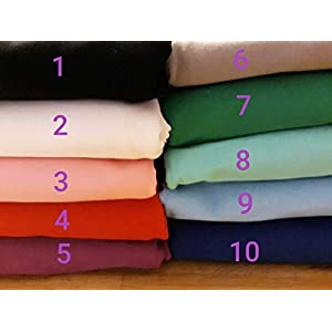 Stoffe zum Nähen, Jerseystoffe, Jersey, rot, Stoffpaket, uni, einfarbig