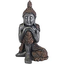 58cm grande seduto Thai Style statua di