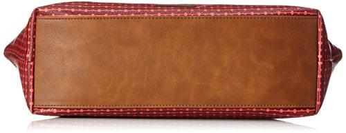 Fossil - Damen Tasche Jayda - Shopper, Borse Tote Donna Rosso (Cabernet)