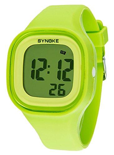 065c939f2e10 SYNOKE - Reloj Electrónico para Adolescente Chicos Multifusiones  Impermeable con Cronómetro Alarma Colorido Caja de Regalo