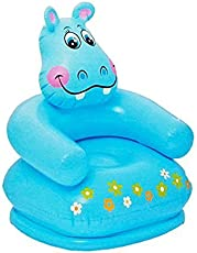 Royals Inflatable PVC Animal Chair (Blue)