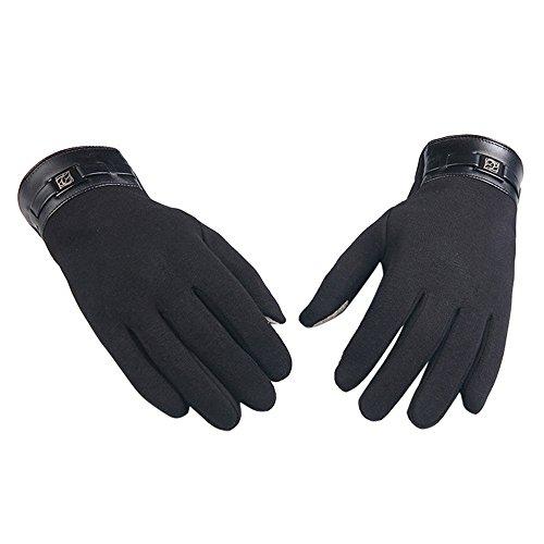 TEBAISE Warme Winterhandschuhe Damen Herren Unisex Touchscreen Handschuhe -