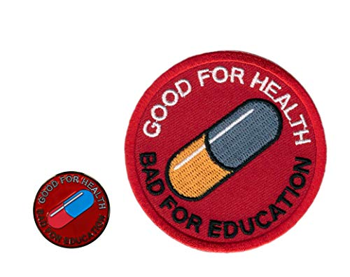 Pin + Patch Set: Akira Good For Health -