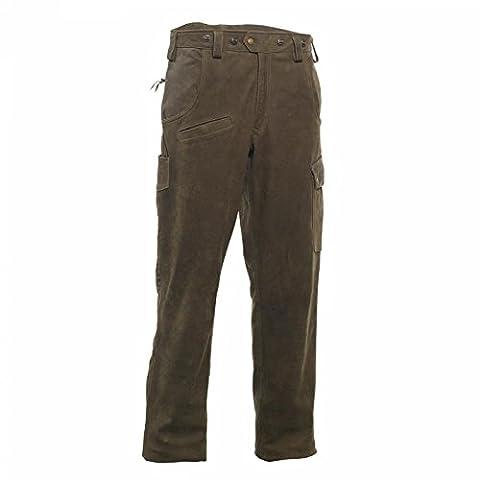 Deer Hunter Strasbourg Pantalon en cuir, marron, 62