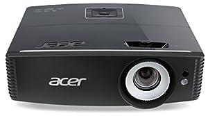 Acer P6500 Full HD DLP-Projektor (5.000 ANSI Lumen, Kontrast 20.000:1, 1.920 x 1.080 Pixel, XGA,  3 x HDMI, 1 x RJ45, Vertikaler Lens shift ) schwarz