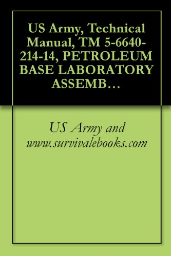 US Army, Technical Manual, TM 5-6640-214-14, PETROLEUM BASE LABORATORY ASSEMBLY, (NSN 6640-00-303-4940) (English Edition) - 00 Base