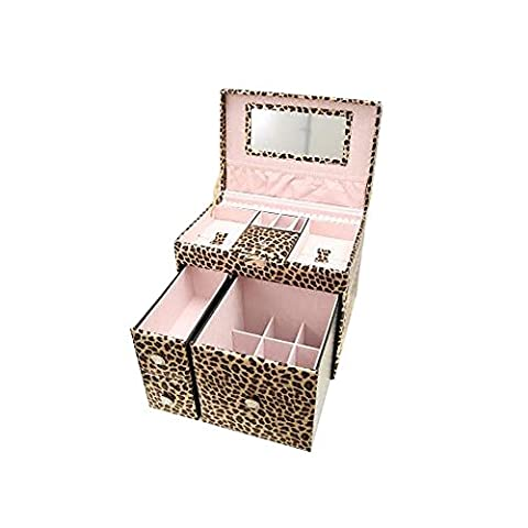 XUEQ Jewelry Storage Box Wooden Jewelry Box Jewelry Box Three