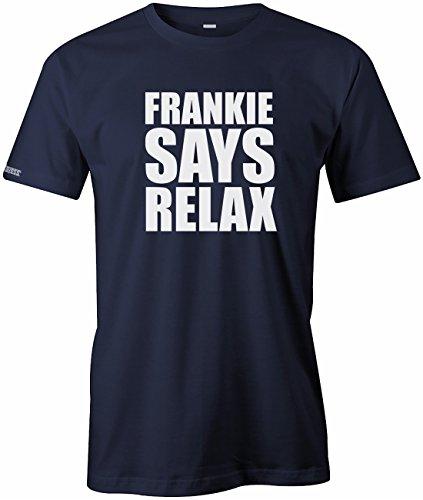 Frankie says relax - Music Musik - Herren T-SHIRT Navy