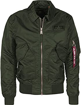 Alpha Industries CWU LW PM Chaqueta Dark Green