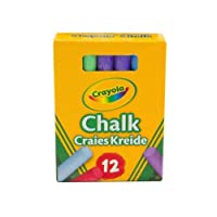 Crayola® Anti-Dust Chalks - Multicoloured ( 1 Pack of 12 )