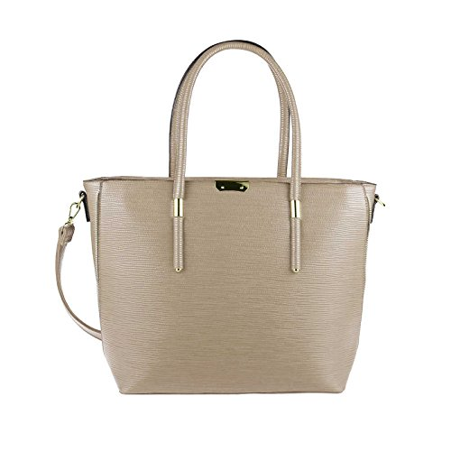 OBC Only-Beautiful-Couture, Borsa a mano donna beige Beige / crema ca.: 45x30x13 cm (BxHxT)