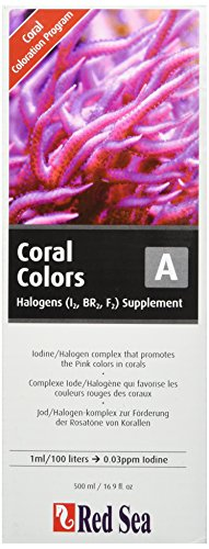 Red Sea Fish Pharm are22043 Reef Farben Jod/Halogenen supplement-a für Aquarium, 500 ml -