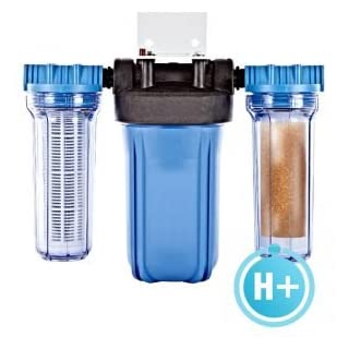 Aquatiere Pureau 2 H+ combined water filter and saltless softener