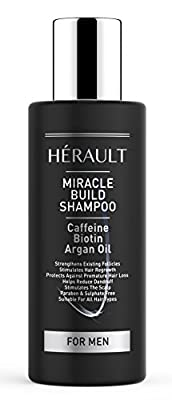 Caffeine Shampoo - Protects Against Hair Loss, Increases Follicle Strength, Fights Dandruff, Sulphate and Paraben Free, Contains Biotin - 150 Millilitre from Second Glance Beauty