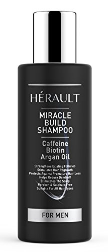 Herault Miracle Build Shampoo for Men, 150 ml