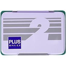 Plus Office 02 - Almohadillas para sellar nº 2, 80 x 120 mm, verde