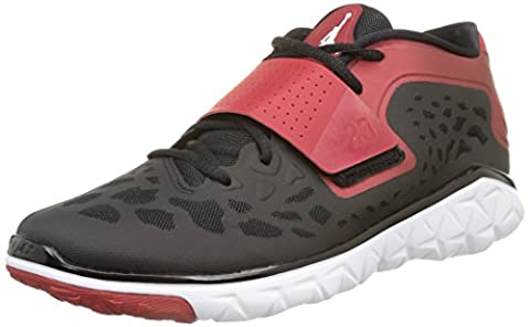 Nike - Jordan Flight Flex Trainer 2 - , homme, multicolore (black/white-gym red), taille 45