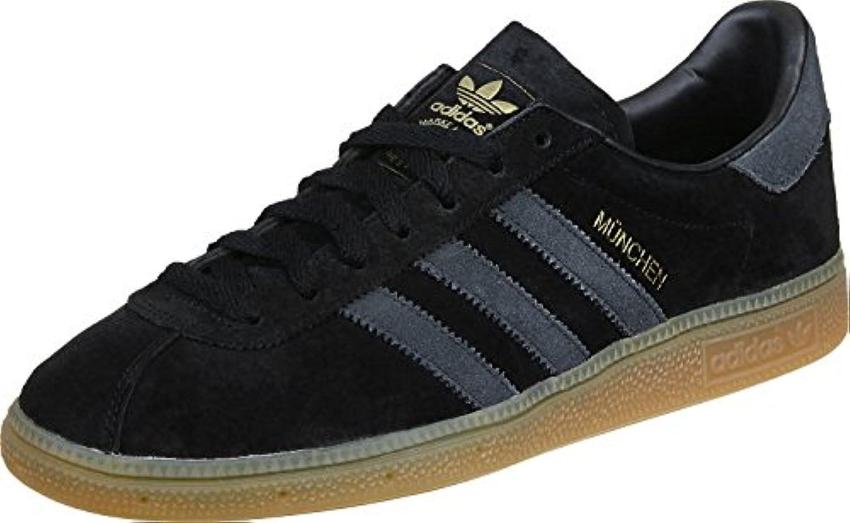 adidas München Schuhe 5 0 black/grey/gum  Billig und erschwinglich Im Verkauf