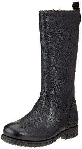 Bisgaard Mädchen 51005218 Hohe Stiefel, Schwarz (204 Black), 39 EU