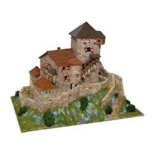 Aedes 1054 Burg Branzoll Model Kit, 33 x 28.5 x 5.5 cm, Multi-Color