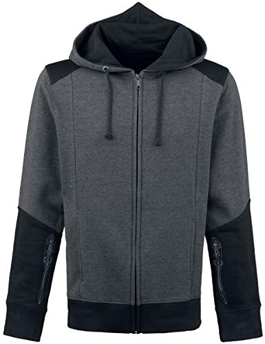 Difuzed B.V. Flashpoint AG Assassin's Creed IV - Black Flag Skull Kapuzenjacke schwarz/grau 3XL