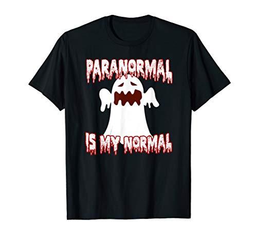Jäger Kostüm Lustige - Paranormal Geister Jäger Halloween Kostüm Grusel Geschenk T-Shirt