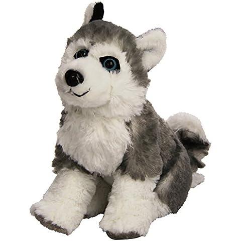 Wild Republic 13435 - Cuddlekins perro pequeño peluche Husky, 20 cm