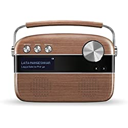 Saregama Carvaan SC01/SC02 Portable Digital Music Player (Oak Wood Brown)