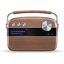 Saregama Carvaan SC01/SC02 Portable Digital Music Player (Oak Wood Brown)