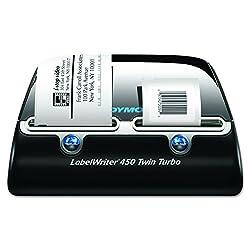 Dymo S0838870 LabelWriter 450 Twin Turbo Tischetikettendrucker Etikettensystem - UK Kabel