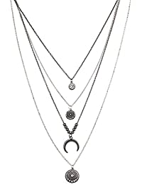Amazon.es: luna - Lux Accessories / Collares y colgantes ...