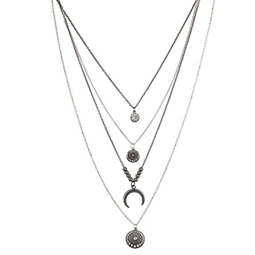 lux-zubehor-antik-tribal-crescent-moon-celestial-disc-mehrere-halskette-set