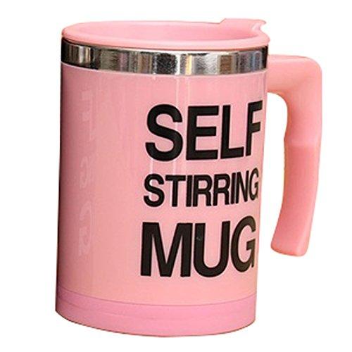 XZANTE 'Self Stirring Mug Edelstahl Elektrische Faule Selbstmischender Kaffee Tee Mischbecher im...