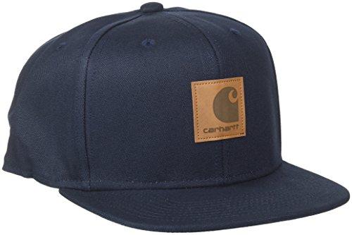 Carhartt Unisex Baskenmütze Logo, Blu (Dark Navy), Einheitsgröße Carhartt Baseball-kappe