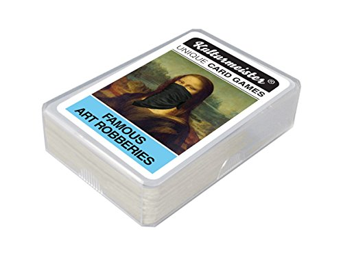 Da Vinci Code Spiel (Famous Art Robberies Card Game)