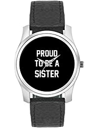 BigOwl Proud To Be A Sister Best Gift For SISTER Fashion Watches For Girls - Awesome Gift For Daughter/Sister/...