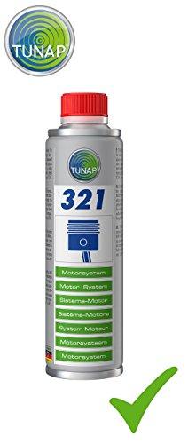 Preisvergleich Produktbild TUNAP 321 MOTORSYSTEM Motor Verschleiss Schutz 300 ml Motor Protect Motorenöl Zusatz