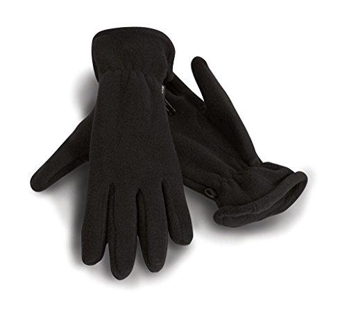 Active Fleece-Handschuhe, Farbe:Black;Größe:M - Active Fleece