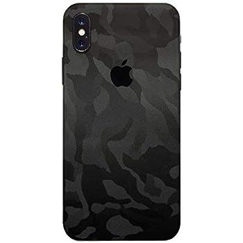 coque iphone x 3d black camo
